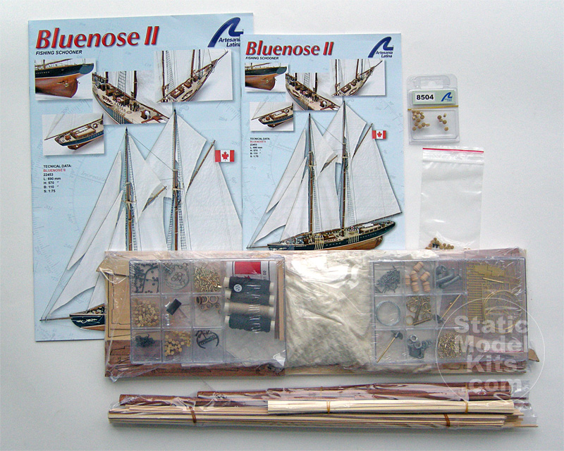 Bluenose II retail box