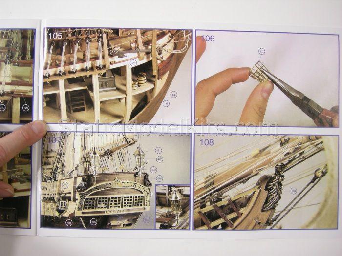 Ship model kit Bounty, Artesania Latina