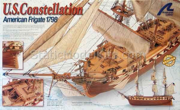 Ship model kit Constellation, Artesania Latina