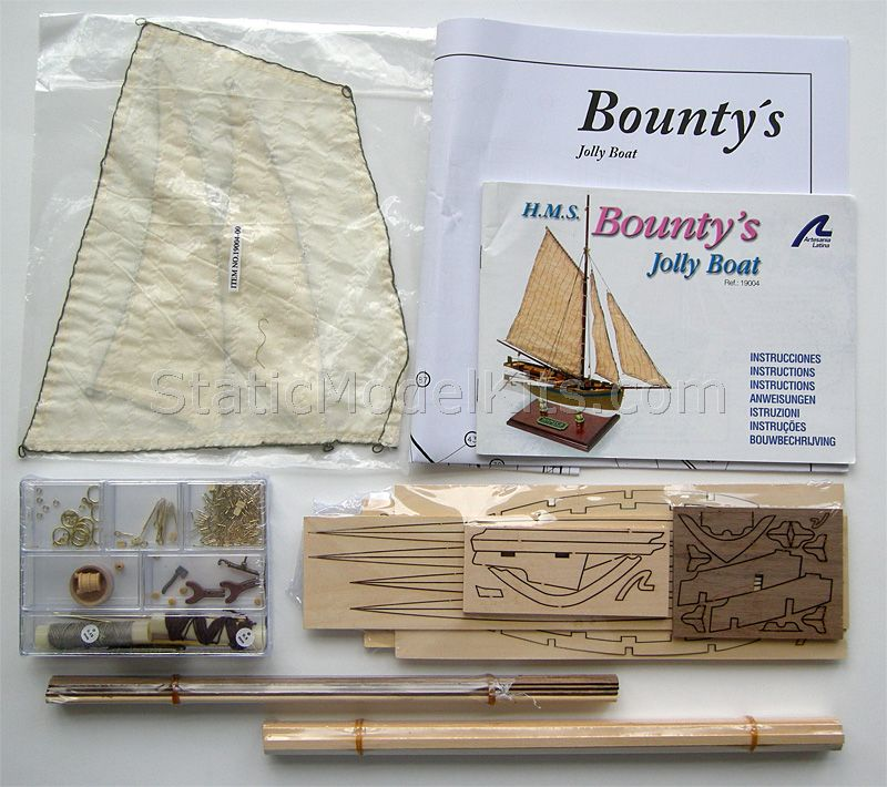 Ship model kit Bounty's Jolly, Artesania Latina