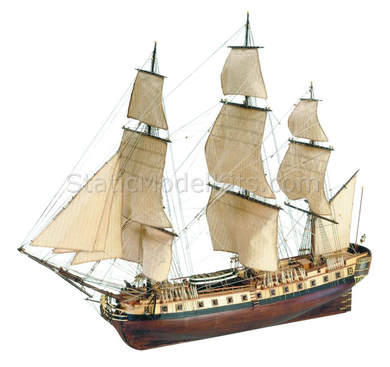 Ship model kit Hermione La Fayette, Artesania Latina