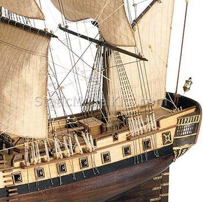 Ship model Hermione La Fayette