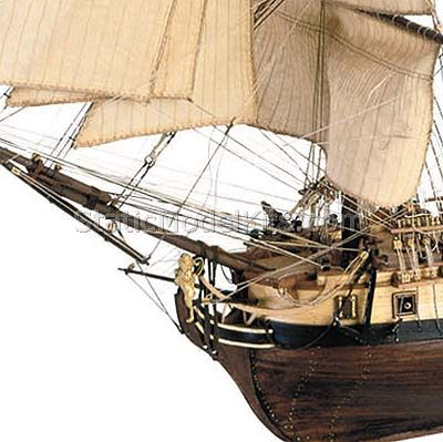 Ship model Hermione La Fayette