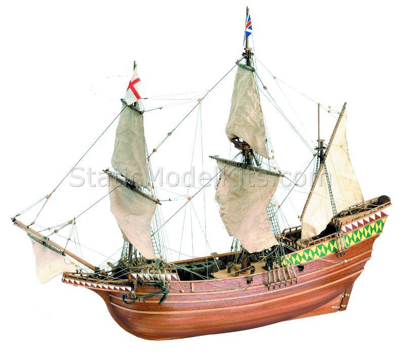 Ship model kit Mayflower, Artesania Latina