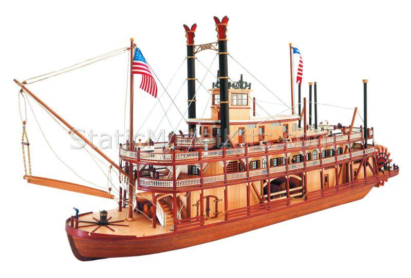 Ship model kit Mississippi, Artesania Latina