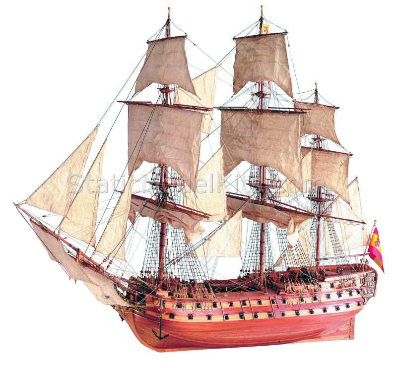 Ship model kit San Juan Nepomuceno, Artesania Latina