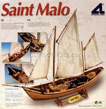 Ship model kit Saint Malo, Artesania Latina