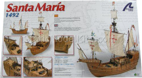 Ship model kit Santa Maria, Artesania Latina