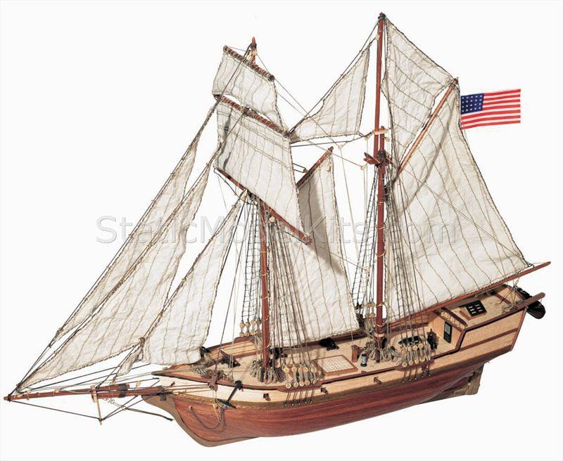 Ship model kit Albatros, Occre