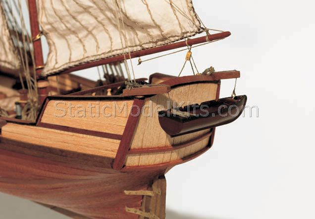 Ship model kit Albatros, Occre