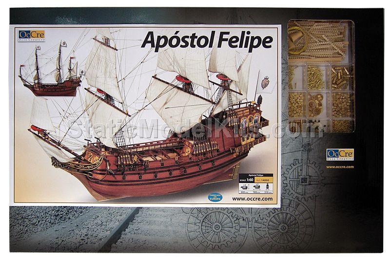 Ship model kit Apostol Felipe, Occre