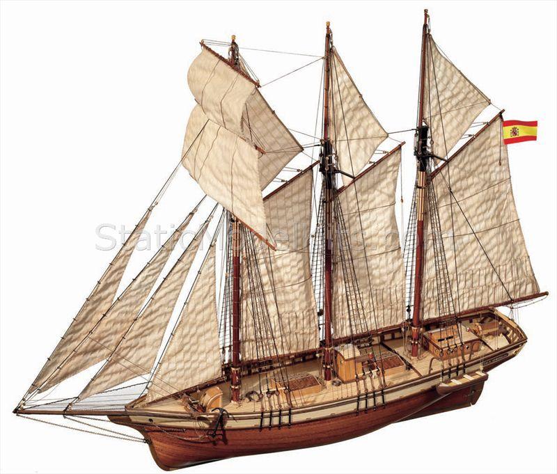Ship model kit Cala Esmeralda, Occre