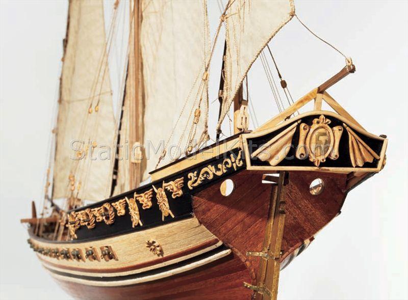Ship model kit Cazador, Occre