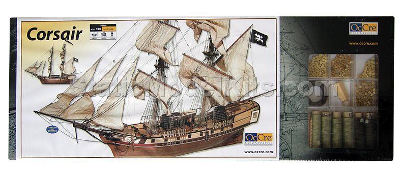 Ship model kit Corsair, Occre
