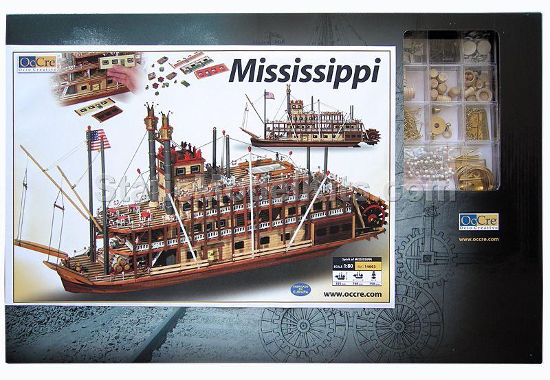 Ship model kit Mississippi, Occre