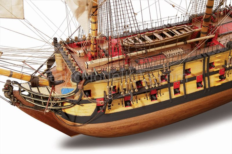 Ship model kit Nuestra S. del Pilar, Occre