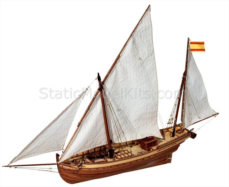 Ship model kit San Juan, Occre