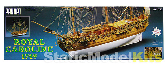 Royal Caroline - ship model kit Panart