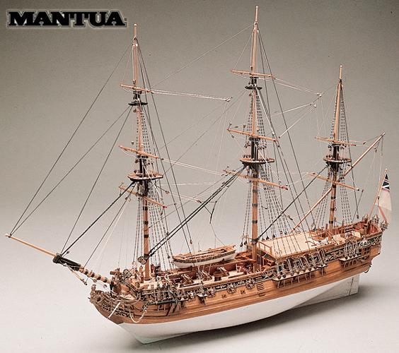 Royal Caroline - ship model kit Panart