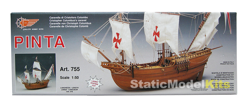 Pinta - ship model kit Mantua