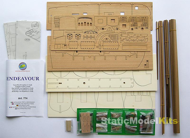 Endeavour - ship model kit Mantua