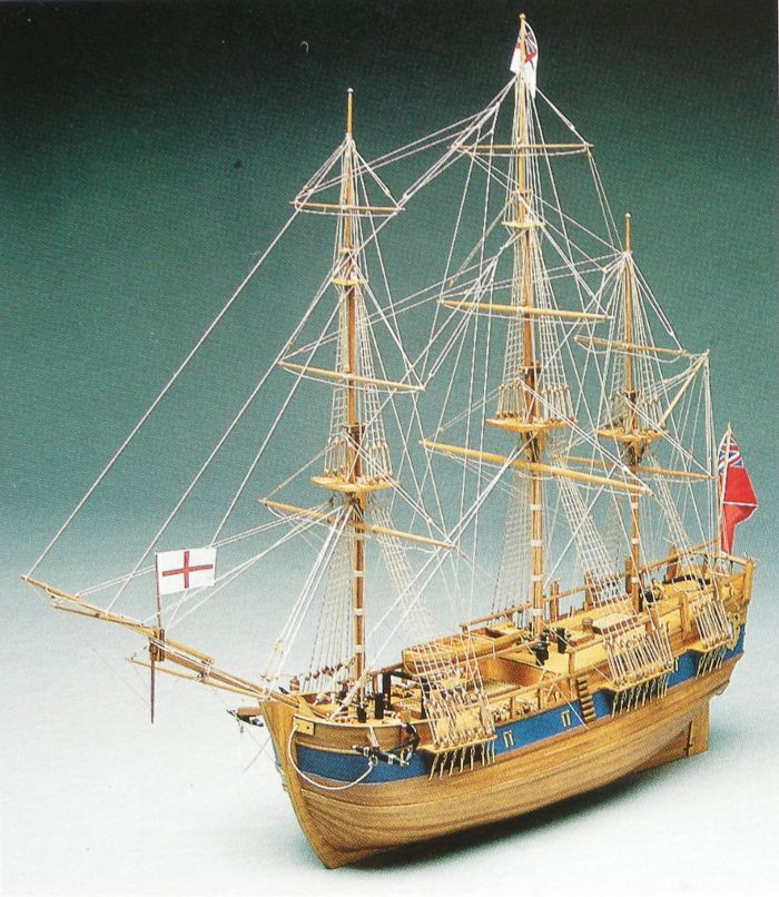 Mantua Endeavour 1 60 Ship Model Kit