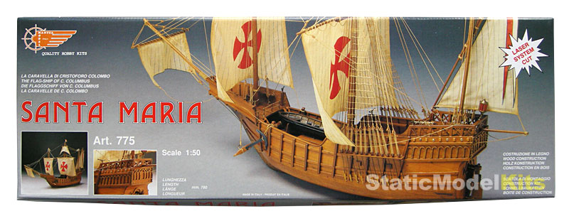 Santa Maria - ship model kit Mantua