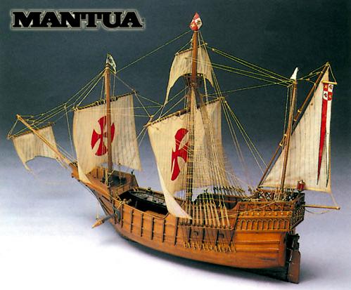 Santa Maria - ship model kit Mantua