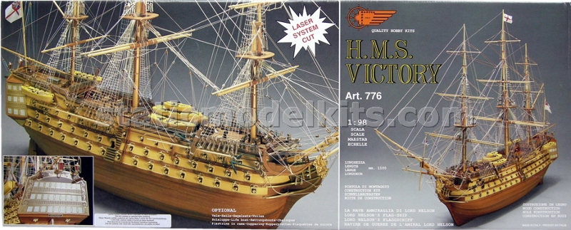 Ship model kit Victory, Mantua 776 - retail