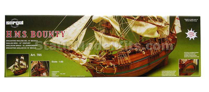 Bounty - ship model kit Sergal